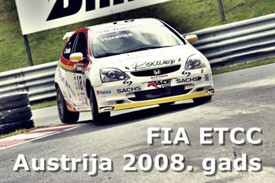 FIA ETCC Austrija 2008.gads